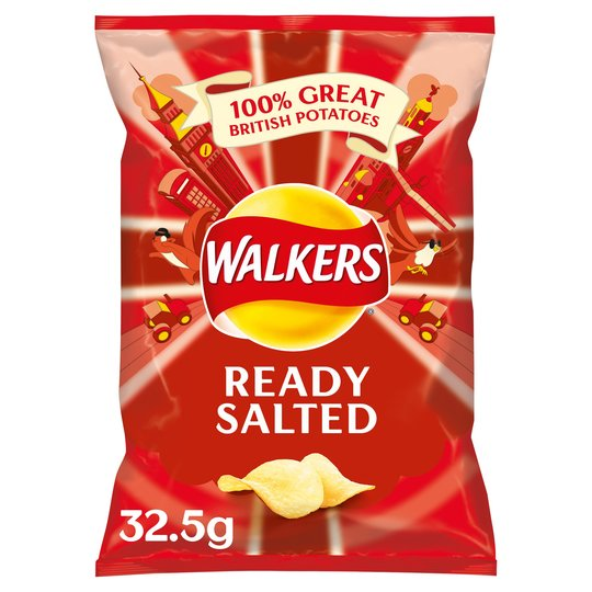 Walkers - Ready Salted - 32.5g