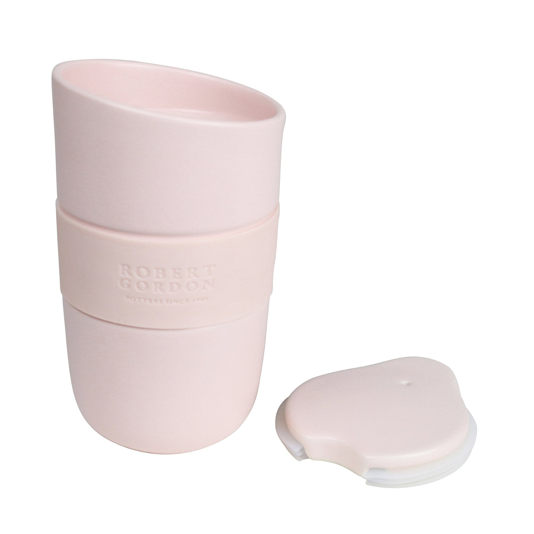 The Best Travel Mug Ever - Matte Pink Stoneware