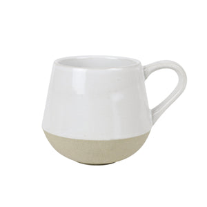 White Bottoms Up Mug