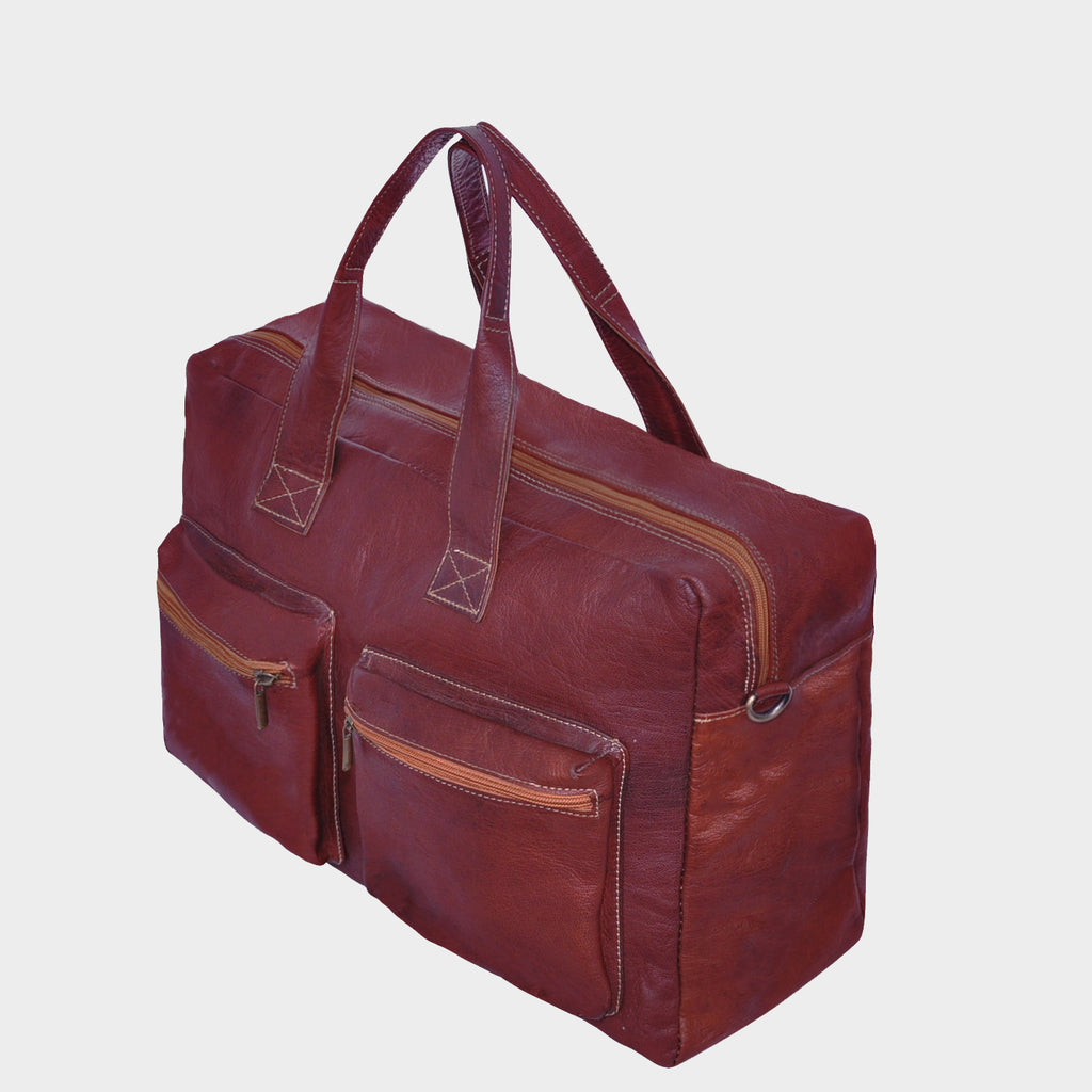 Allura Leather Weekender Bag