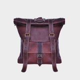 Double Strap Roll Top Backpack