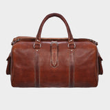 Altitude Leather Weekender Bag