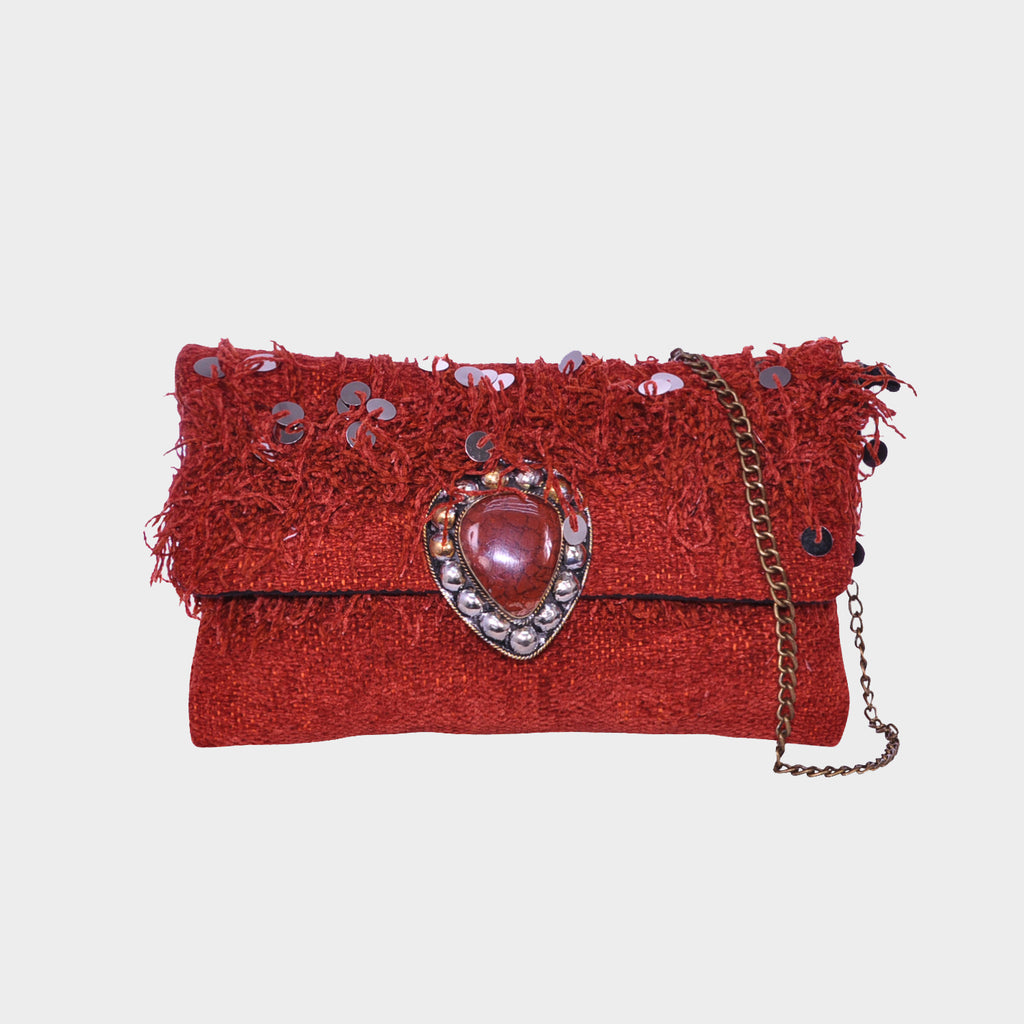 Amazir Sienna True<br>Tribal Crossbody Clutch