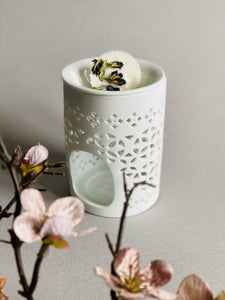 White Ceramic Wax Warmer