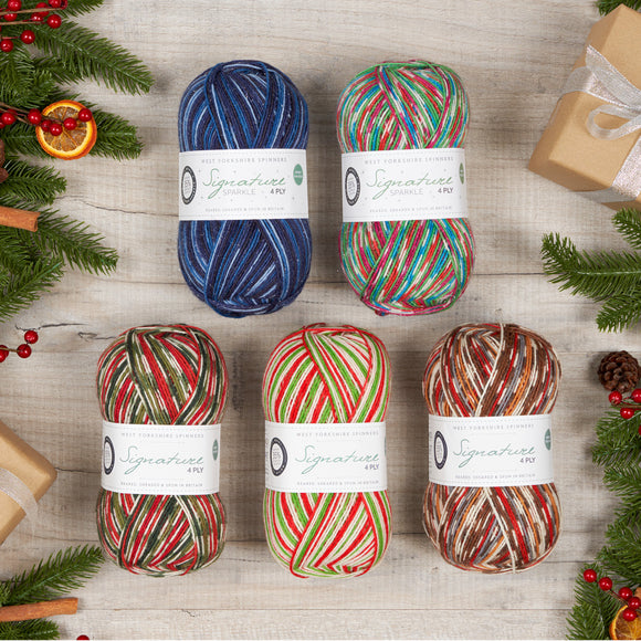 West Yorkshire Spinners Christmas 2020 Signature 4 Ply Colors