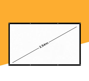 "100"" projection screen for the Projector Freestarz™  (2.5 meter diagonal)"