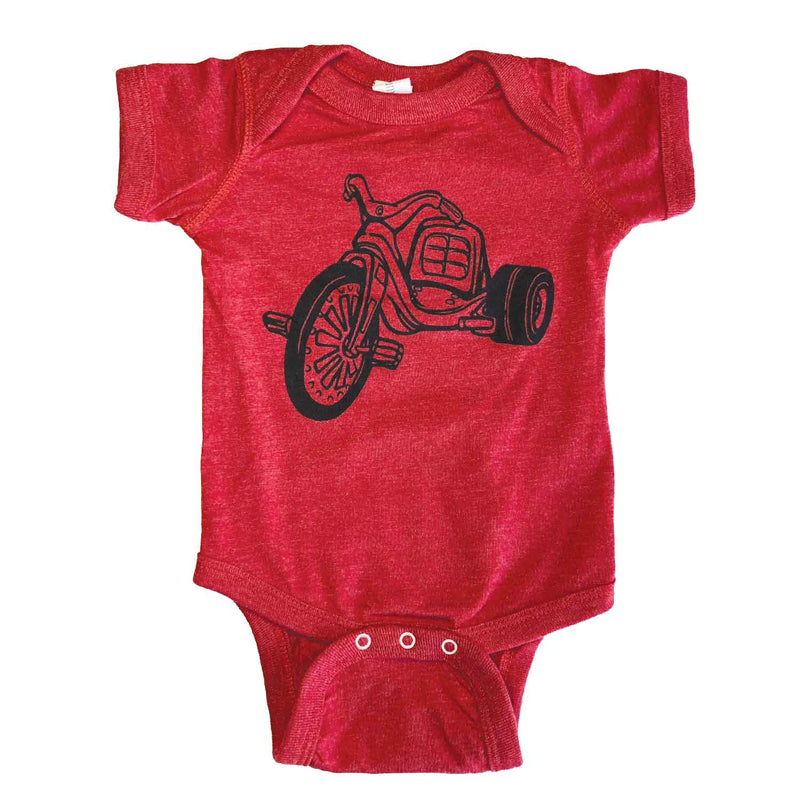 Big Wheel Baby Bodysuit