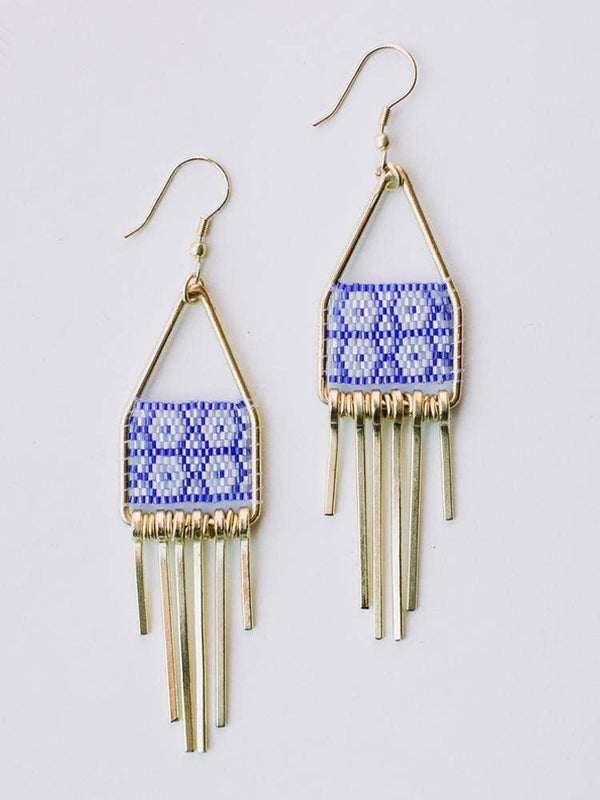 Mata Traders Allegory Blue Earrings