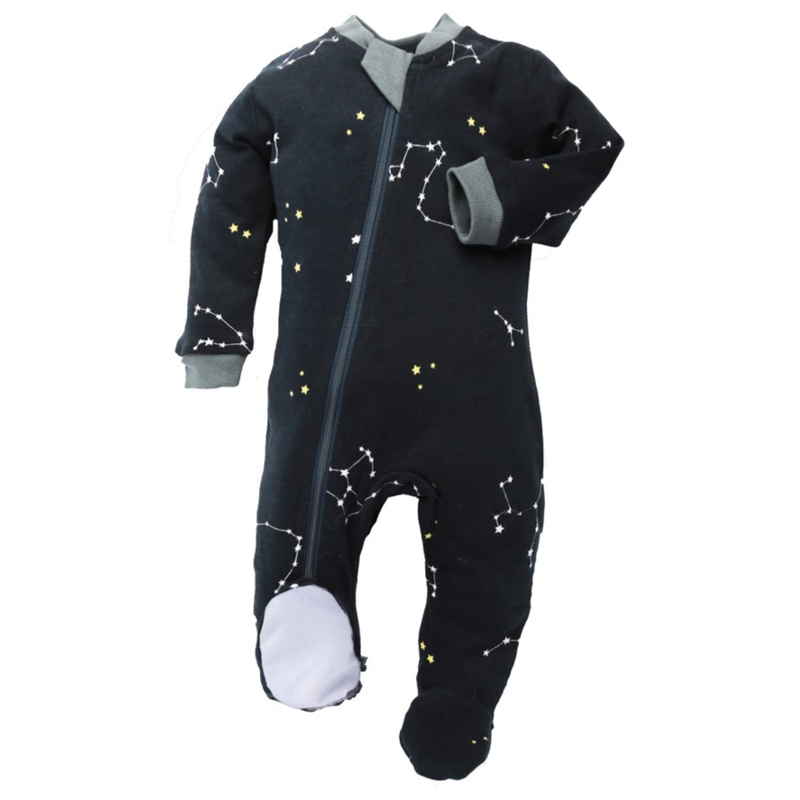 Galaxy Love - Navy - Babysuit - Footed or Footless