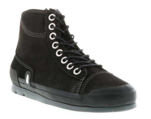 Wolky Watson High Top Leather Lined Sneaker Strada
