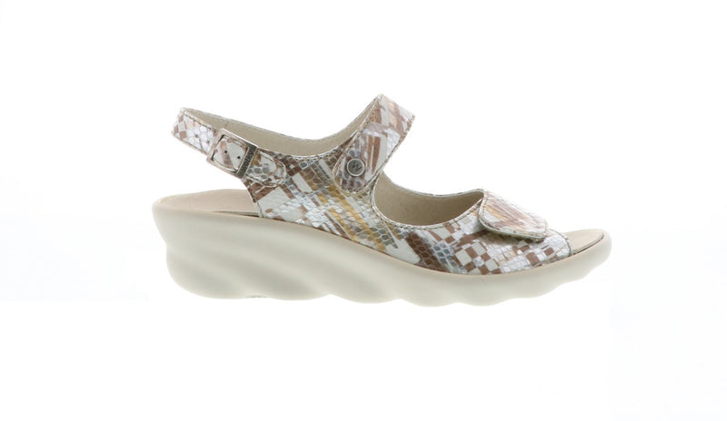 Wolky Scala Adjustable Wedge Sandal
