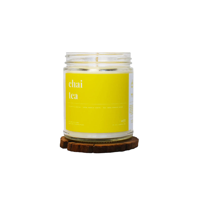 BEST SELLER - Chai Tea Scented Soy Candle - 9oz