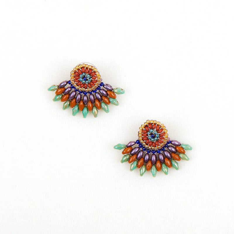 Duo Post Earring