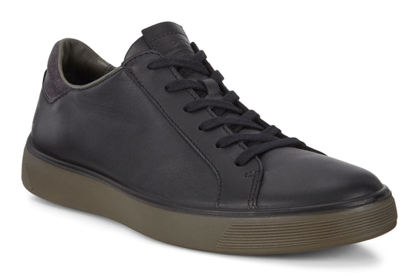 Ecco Street Tray Lace Up Sneaker Men