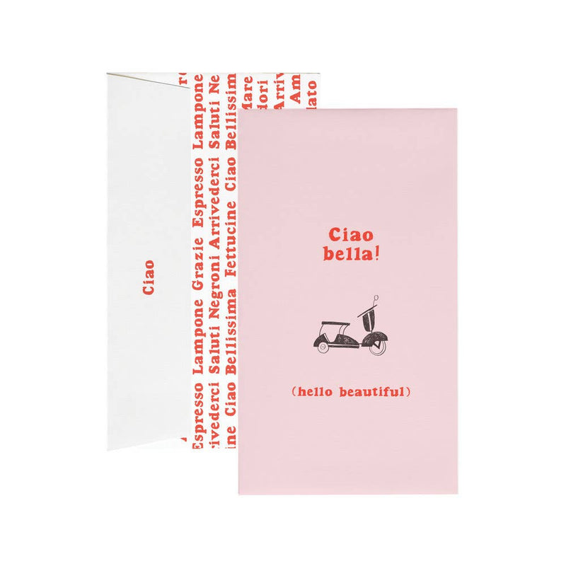 Ciao Bella from Rome - Set of 6 Cards