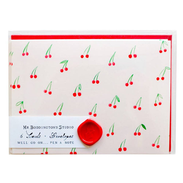 Cherries on Top - Box of 6 Notecards