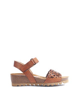 Dorking By Fluchos D7847 Wedge Ankle Strap Walking Sandal