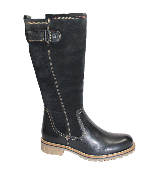 Eric Michael Marcella Waterproof Wool Lined Tall Boot