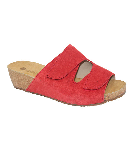 Eric Michael Sedona Adjustable Strap Cork Wedge Sandal