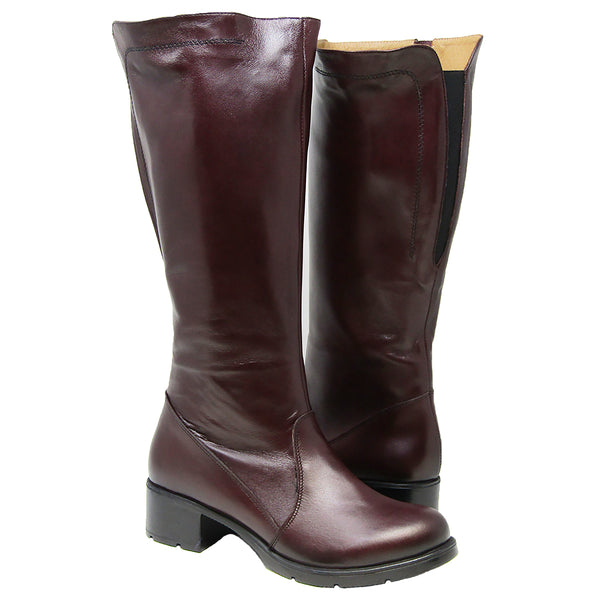 V Italia V064 Adjustable Calf Tall Boot