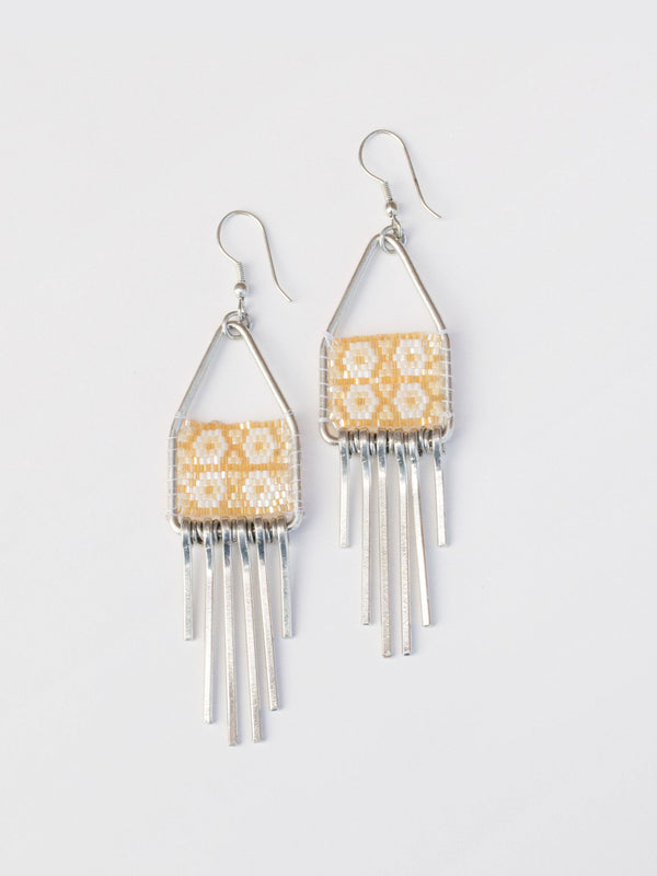 Silver Allegory Earrings