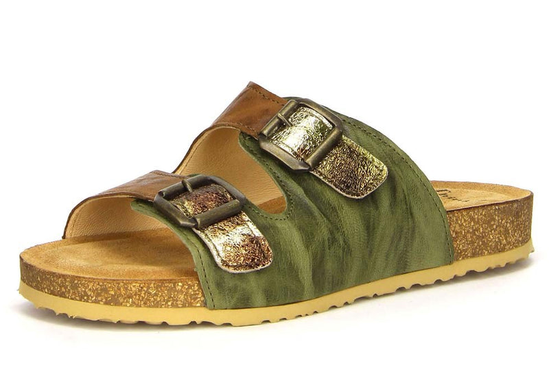 Think! Bluza Cork Footbed Comfort Slide