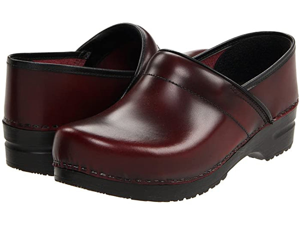 Sanita Pro Cab Smooth Leather Clog