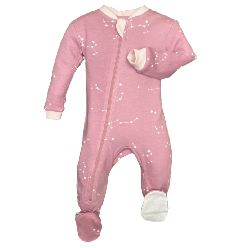 Galaxy Love - Pink - Babysuit - Footed or Footless (Copy)