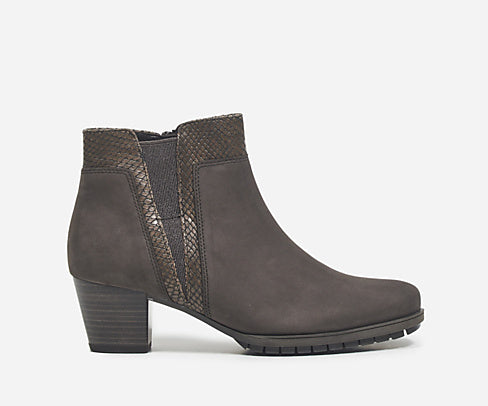 Gabor Grey Ankle Boot