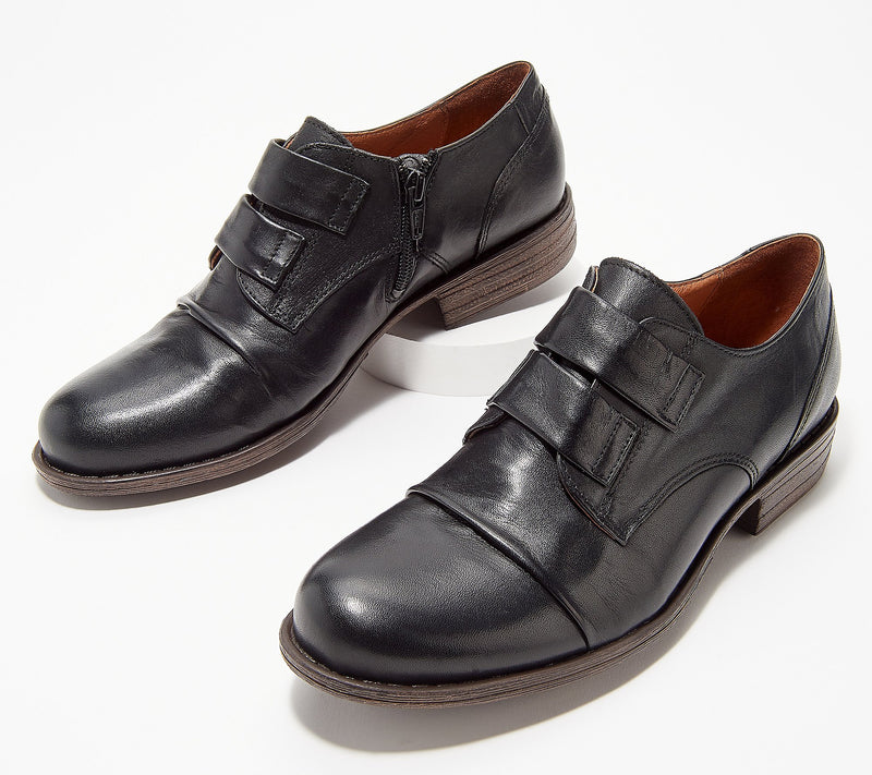 Miz Mooz Liam Leather Strap Oxford