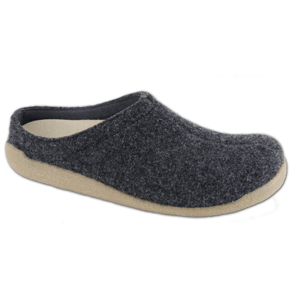 Sanita Lodge Slide Wool Felt Slipper