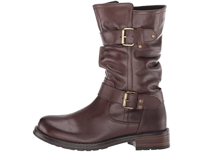 Eric Michael Noelle Ruched Mid Calf Boot