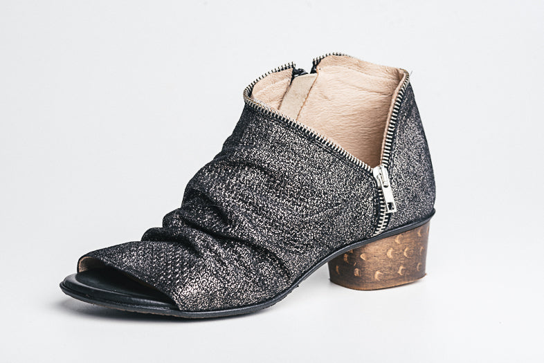 Unity In Diversity Sage Open Toe Sandal Boot
