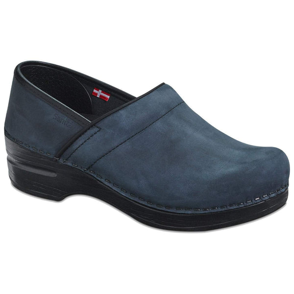 Sanita Pro Smooth Oiled Leather Clog
