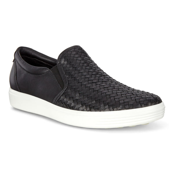 Ecco Soft 7 Slip-On Woven Sneaker