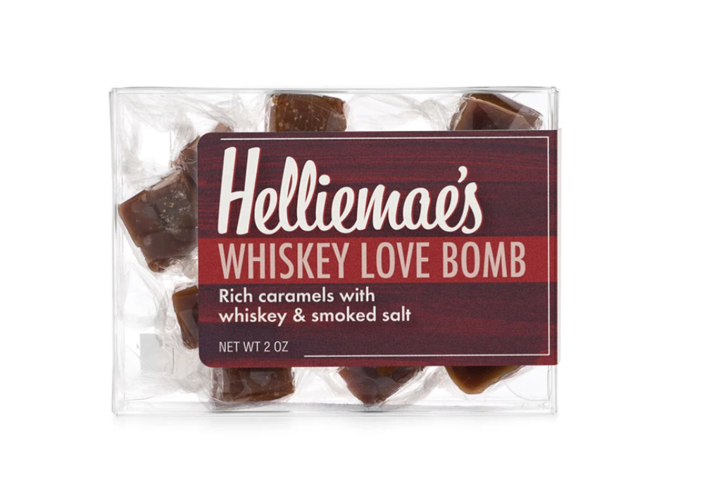 Whiskey Love Bomb Caramels Small Gift Box