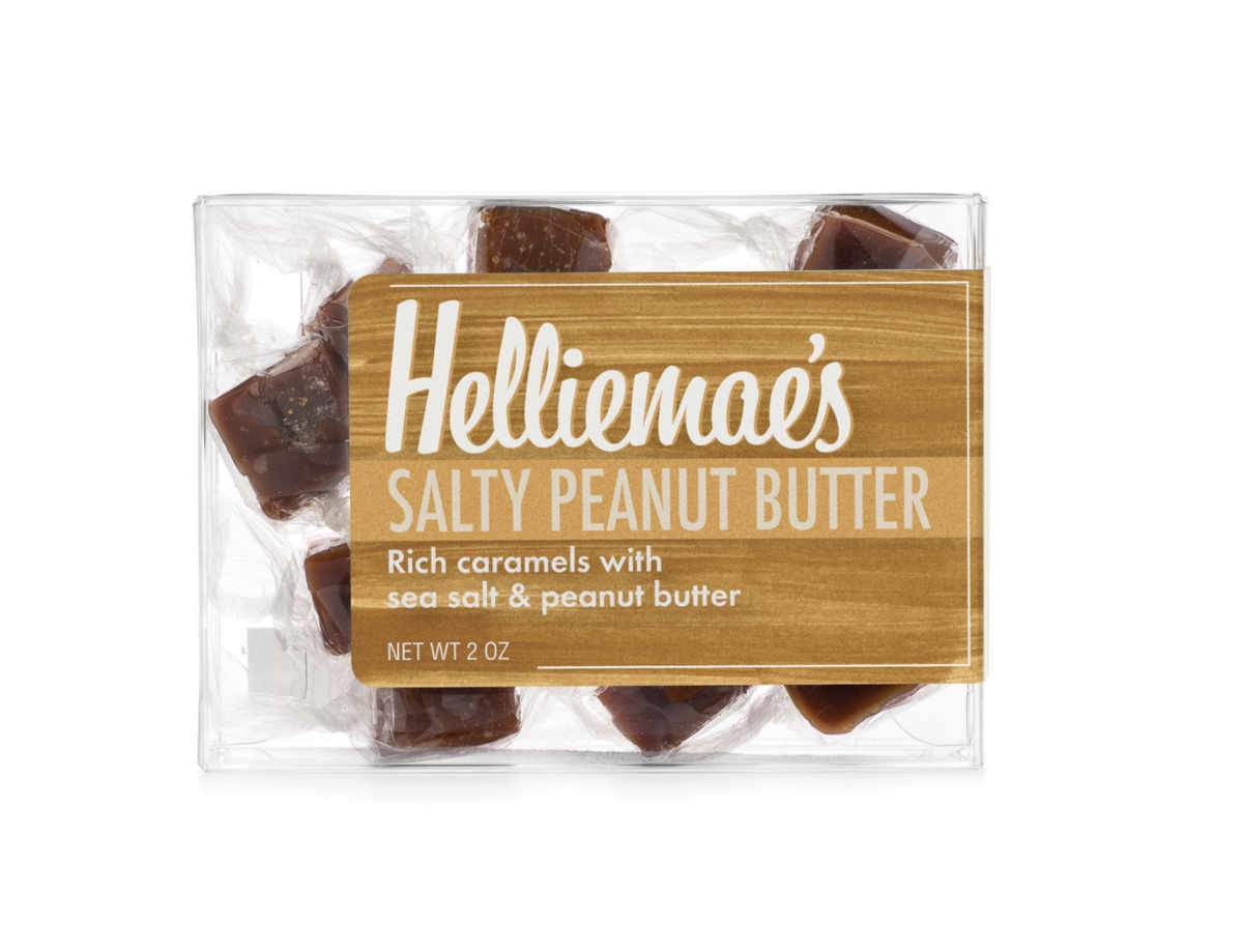 Salty Peanut Butter Caramels Small Gift Box