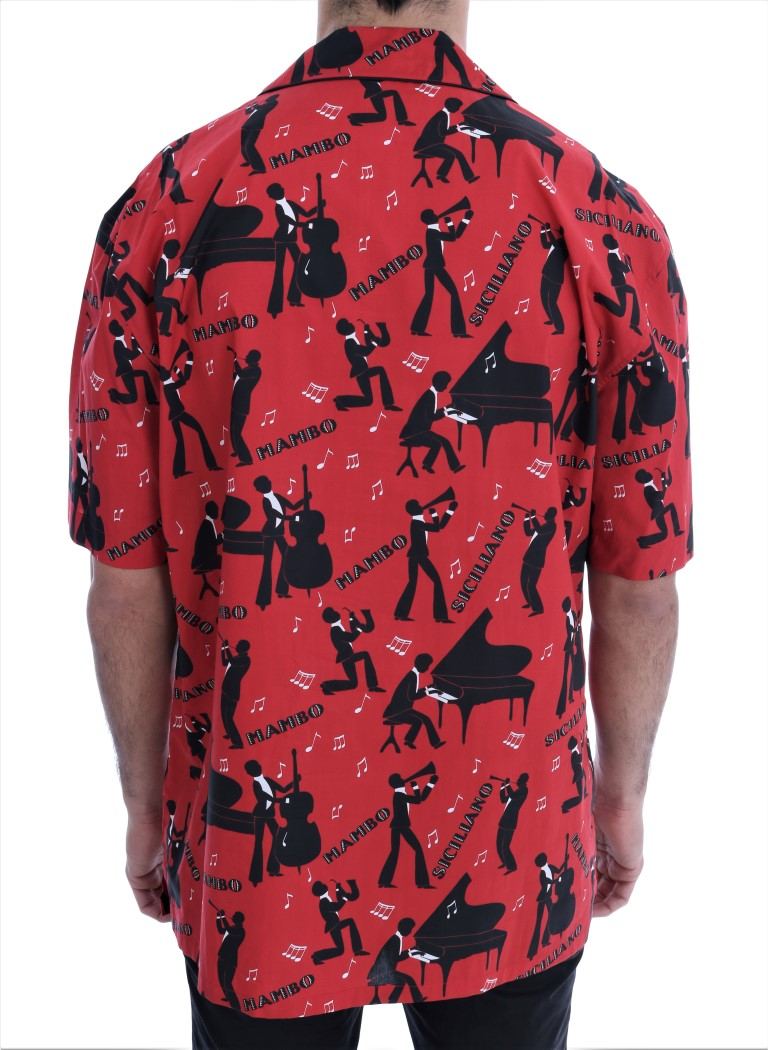 Red MAMBO Short Sleeve Shirt