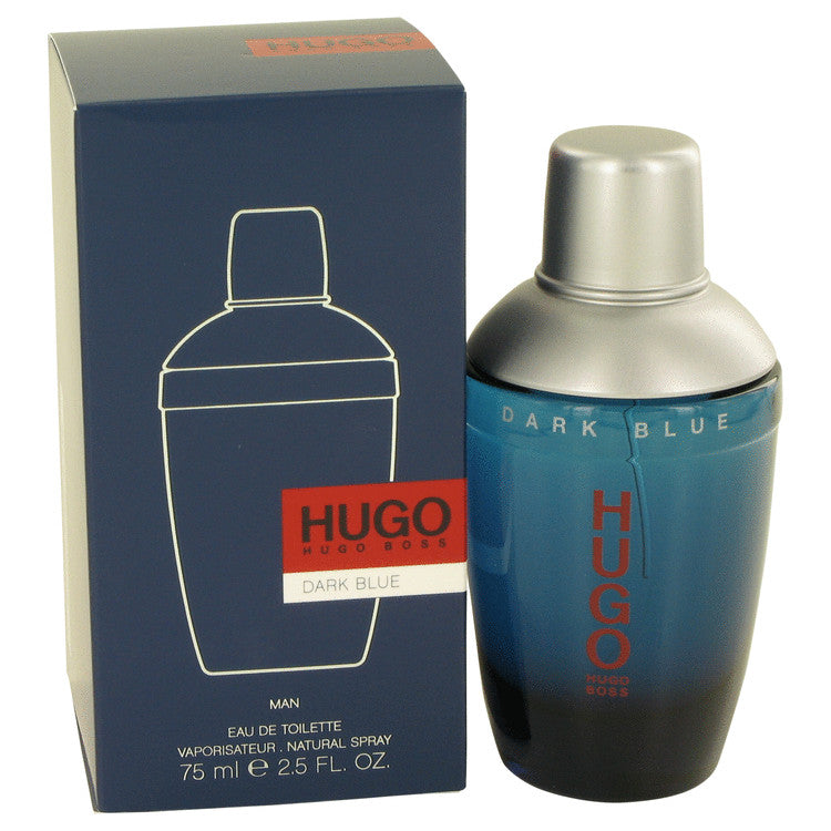 Dark Blue Eau De Toilette Spray By Hugo Boss