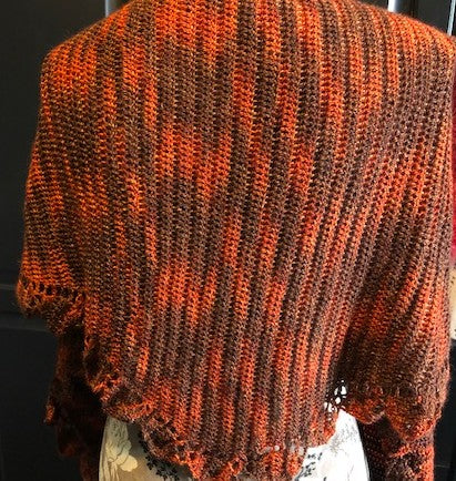 Autumn Leaves Shawl