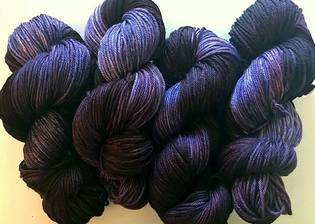 Friday Night Fibers Blueberry Mojito by Sharpin Designs
