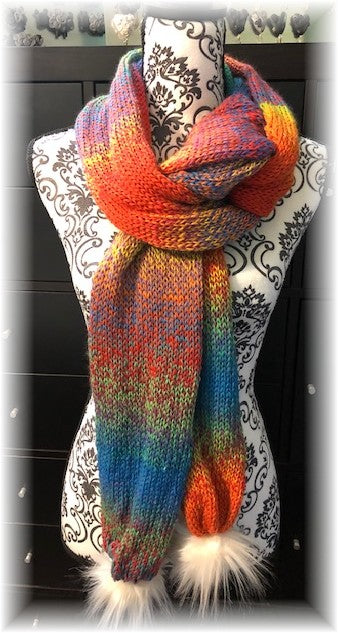 Knit Scarf by Sharpin Designs