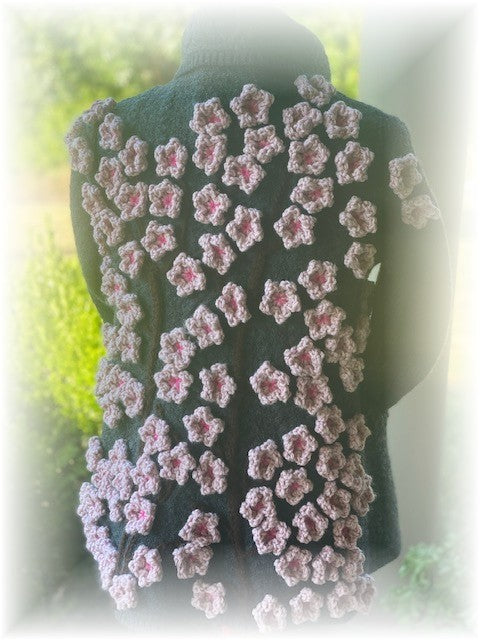 Cherry Blossom Sweater by Sharpin Designs