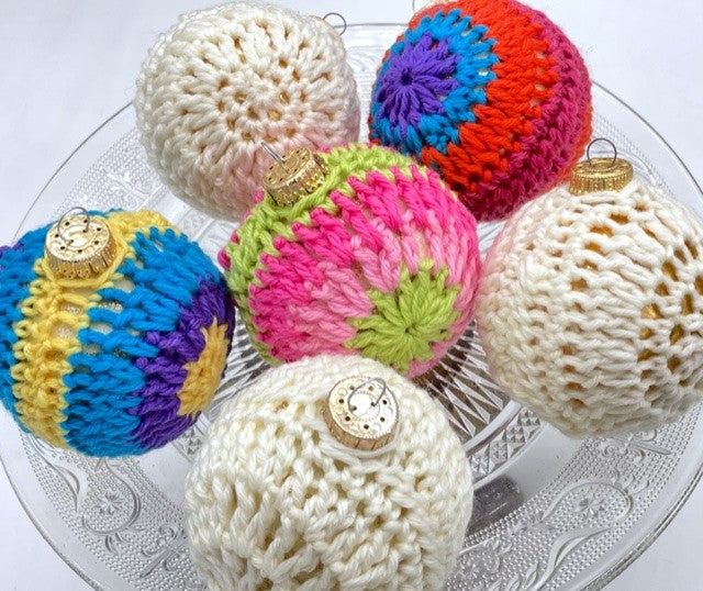 Crochet Ornaments by Sharpin Designs