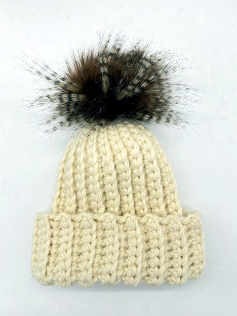The Easiest Crochet Hat Ever by Sharpin Designs