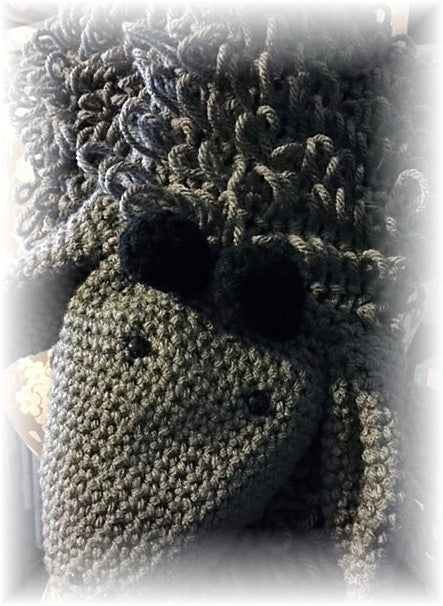 New Pattern: Goat Scarf