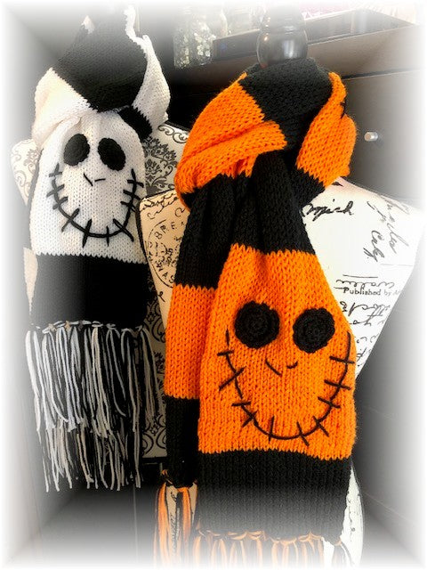 Halloween Scarves by Sharpin Designs