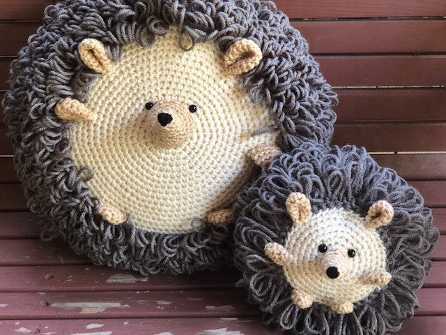 Hedgehog Crochet Pattern by Sharpin Designs