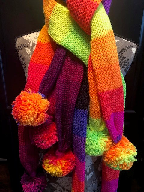 Skinny Knit Scarf by Sharpin Designs