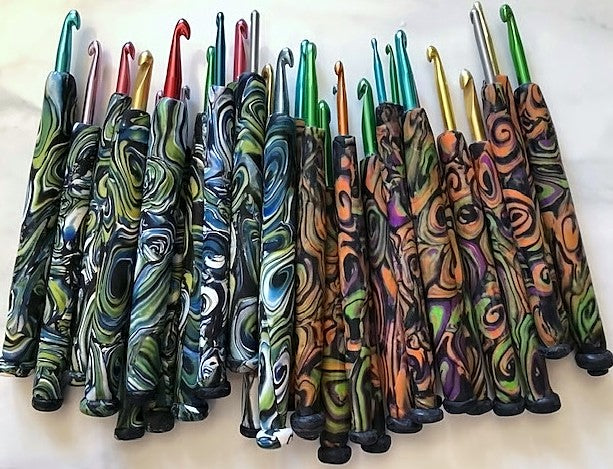 Starry Night Crochet Hooks